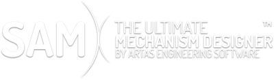 header_text Optimalisatie - SAM - The Ultimate Mechanism Designer - Artas Engineering